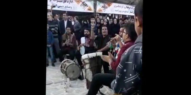 اجرای ترانه بوشهری